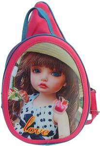 Bagathon India New Fancy Magic Eyes Teenage Backpack [PINK] 10 L Backpack