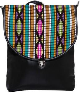 Shopharp wanderlust mosiac brn 12 L Laptop Backpack