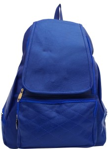 b963d166b0e Vintage Stylish Ladies Blue bag 146 7 5 L Backpack Blue Best Price ...