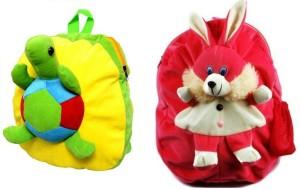 Pandora Kids School Bag - 2 Pack of Tortoise and Rabit 5 L Backpack