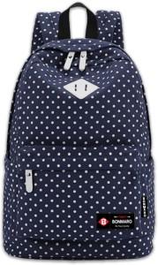 Bonmaro Polka Dots Blue 24 L Backpack