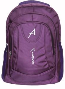 Attache Premium School / Laptop Bag (Purple) 30 L Backpack