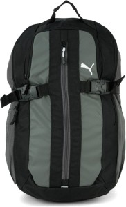 00e9720aaf Puma Unisex Black Casual Backpacks 5 L Backpack Black Grey Best ...