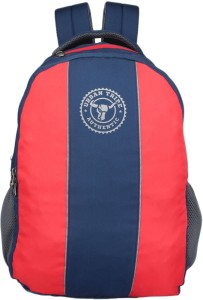 Urban Tribe Roadster Navy Blue Red Stripe 30 L Laptop Backpack