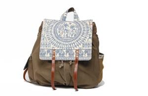The House of Tara Madhubani Multiutility 016 Large Backpack