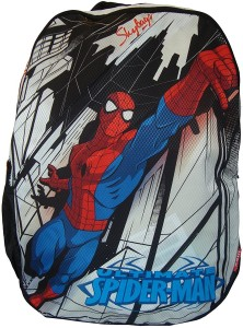 ec3114a32ee Skybags SB Marvel Spiderman 32 L Backpack White Black Best Price in ...