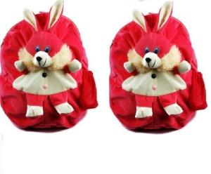 Pandora Kids School Bag - 2 Pack of Pink Rabit 5 L Backpack