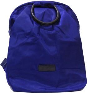 Ruff Blue Plain & Solid Backpack 2.5 L Trolley Backpack