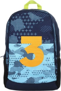 e6b7b9207ad0 Adidas YK3 Blue 22 L Laptop Backpack Multicolor Best Price in India ...