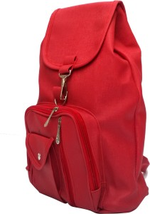 93c0150f7c68 Vintage Stylish Ladies Expandable Backpack Handbag Red(bag 124) 2.5 L  BackpackRed