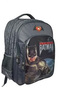 233708babcb Simba Batman Vs Superman School Bag Grey 18 inch Best Price in India ...