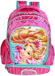 Barbie Mermaid Princess School Bag