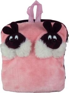 Sisamor Double Rabbit Pink Kids School Bag