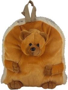 Sisamor Brown Soft Bear Kids School Bag