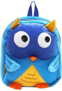 Bazaar Pirates Cute Owl Kids School Cum Picnic Bag School Bag