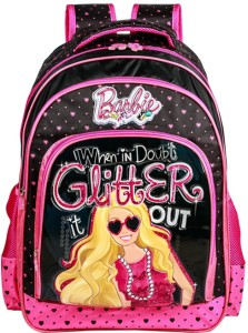 Barbie Glitter it out School Bag