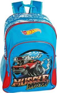 Hot Wheels Muscle Division Waterproof School Bag