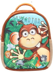 Bazaar Pirates Jungle Fun School Bag