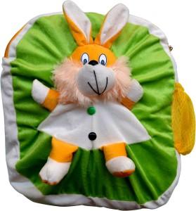 Funtastic Green Bunny Design Kids School Bag Backpack