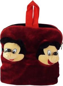 Sisamor Double Mouse Red Kids School Bag