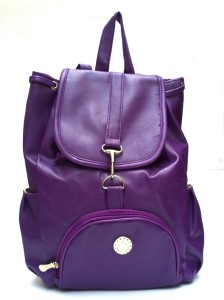 Lajos Bags Purple bagpack Backpack