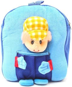 Bazaar Pirates Cap Boy Soft Toy Bag Cum Kids Backpack Blue Yellow 14 ... a4ef1e05e308e