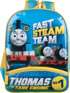 "Thomas Tank Engine Friends 12/"" School Backpack Boys book Bag Fast Friends"