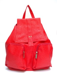 Lajos Bags Collage Queen Beige Backpack