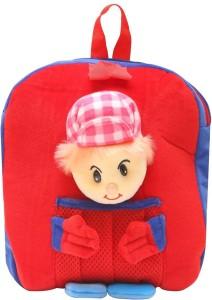Bazaar Pirates Cap Boy Soft Toy Bag Cum Kids Backpack