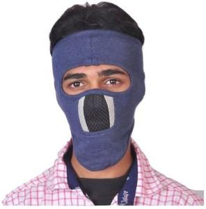 53625b8dd00 Babji Black Bike Face Mask for Men Women Size Free Balaclava Best ...