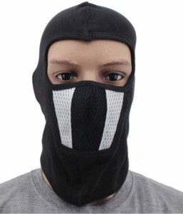 aeafa8c227c Babji Black Bike Face Mask for Boys Girls Size Free Balaclava Best ...