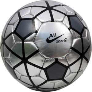 A11 Sports Premier League Silver Football -   Size: 5