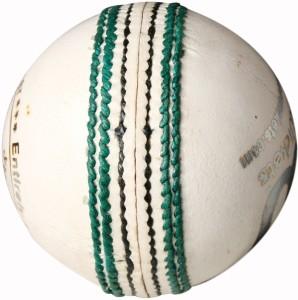 THREE WICKETS Jaguar Cricket Ball -   Size: 5
