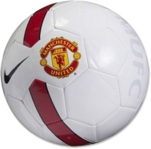 A11 SPORTS WHITE UTD A11 Football -   Size: 5