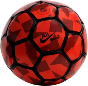 A11 Sports RED PITCH Football -   Size: 5