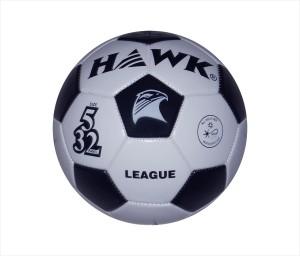 HAWK League Wht/Blk Football -   Size: 5