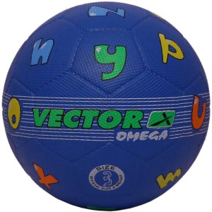 Vector X Omega ABC Rubber Moulded Football -   Size: 3