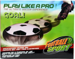 Bubble Hut Air Hover/Floating Football -   Size: Medium