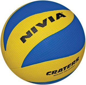 Nivia Craters Rubber Volleyball -   Size: 4