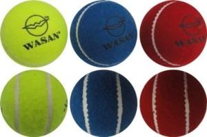 Wasan Tennis (Pack Of 3) Cricket Ball -   Size: Standard