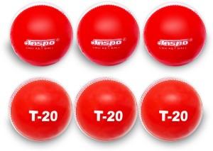 Jaspo T-20 Red Cricket Ball Cricket Ball -   Size: 5