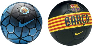 Retail World BARCA BLACK & FCB BLUE COMBO Football -   Size: 5