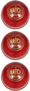 RS SPORT MATCH Cricket Ball -   Size: 5