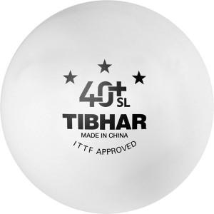 Tibhar 40+ SL Seamless Poly Ping Pong Ball -   Size: 4