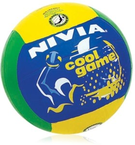 Nivia Rubber Moulded Volleyballs-4 (Vb-487) Volleyball -   Size: 4