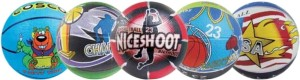 Cosco Multi Graphics Basketball -   Size: 3