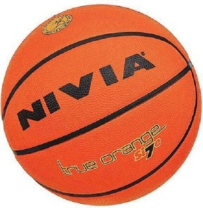 Nivia True Orange Basketball -   Size: 7