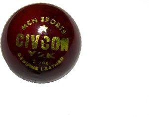 Arnav CIVCON GENUINE VIJARABADI LEATHER Cricket Ball -   Size: 5.5