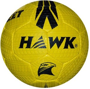 HAWK Street made of Extra durable Rubber material Football -   Size: 5