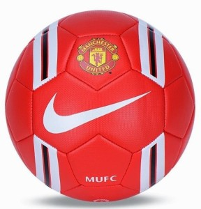 A11 SPORTS MUFC RED Football -   Size: 5